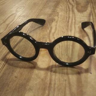 アングロアメリカン 伊達メガネ 白山眼鏡 金子眼鏡  丸メガネ ラウンド