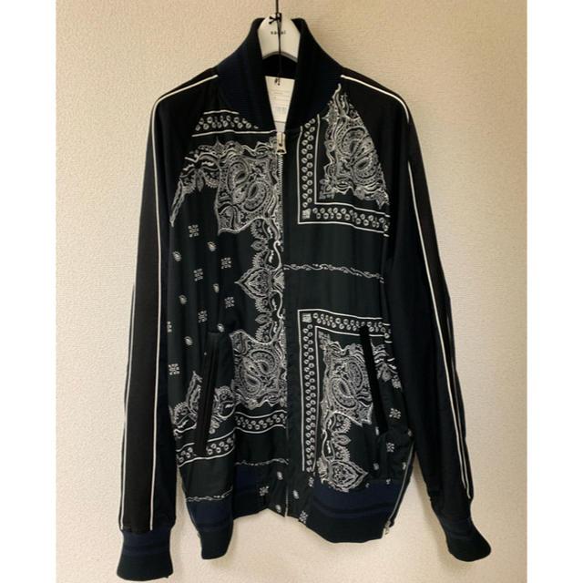 sacai(サカイ)の【新品定価73440円】sacai 19ss バンダナ ブルゾン  メンズのジャケット/アウター(ブルゾン)の商品写真