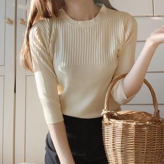 ロキエ(Lochie)のoff white tops(Tシャツ/カットソー(七分/長袖))