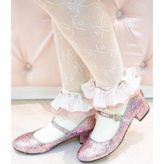 ナイルパーチ(NILE PERCH)の本日限定 レア twinkle pink shoes(ハイヒール/パンプス)