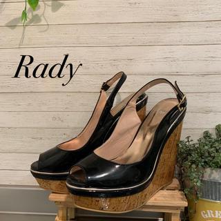 レディー(Rady)のRady サンダル 美品(ハイヒール/パンプス)