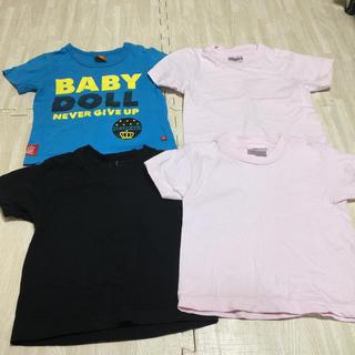 ベビードール(BABYDOLL)の100 ティーシャツ ベビードール Hanes 子供 キッズ(Tシャツ/カットソー)