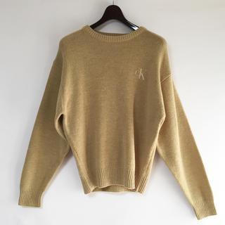 カルバンクライン(Calvin Klein)の90s カルバンクライン ニット セーター 古着MIX モード(ニット/セーター)