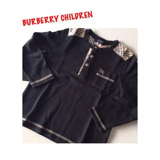 BURBERRY - BURBERRY CHILDREN⭐️長袖シャツ 100