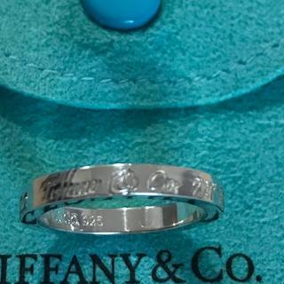 Tiffany & Co. - ティファニー ノーツリング  9号