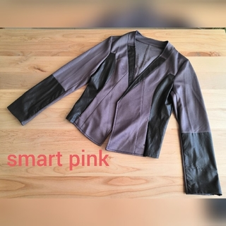 UNTITLED - 未使用タグ付【smart pinkワールド】ジャケット ブラウンサイズM