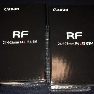Canon - 新品 Canon  RF 24-105mm F4 L IS USM×2本