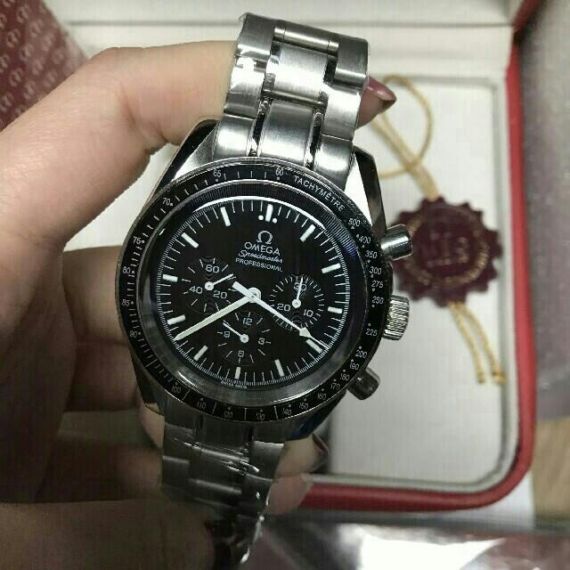 OMEGA - オメガ OMEGA  スピードマスター デイト ブランド腕時計の通販