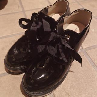 マジェスティックレゴン(MAJESTIC LEGON)のMAJESTIC LEGON スカラップ厚底ローファー(ローファー/革靴)