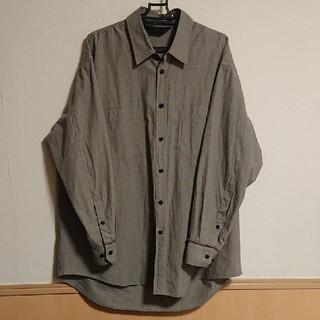 SUNSEA - essay 19ss selvedge shirt  M