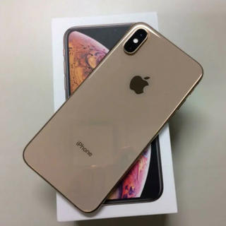 iPhone - iPhone xs 64GB GOLD simフリー