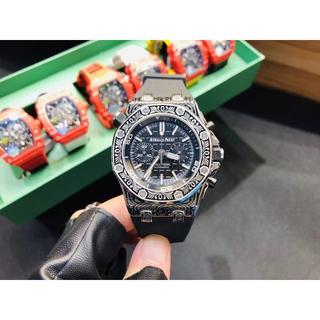 AUDEMARS PIGUET - ラバーベルト 腕時計 43mm オーデマピゲ クォーツ ファッション 人気