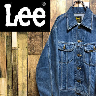 Lee - 【激レア】リーLee☆日本製ピスネーム入りリーライダースデニムジャケット 90s