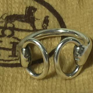 エルメス(Hermes)のHERMES エルメス ナウシカ シルバーリング 指輪(リング(指輪))