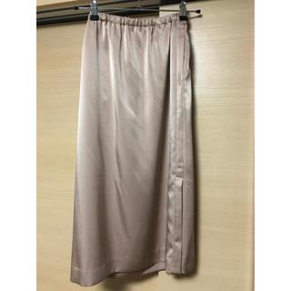 BEAUTY&YOUTH UNITED ARROWS - ロク サイドスリットサテンスカート