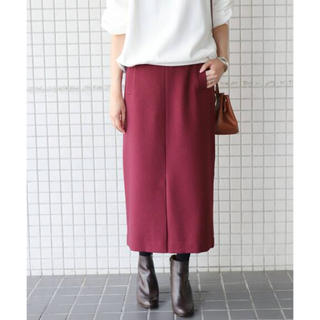 イエナスローブ(IENA SLOBE)のSLOBE IENA ウーリッシュフラノサイドポケットスカート(ロングスカート)