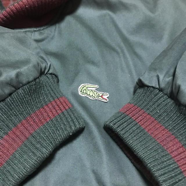 LACOSTE(ラコステ)の【リバーシブル】LACOSTE ブルゾンジャケット メンズのジャケット/アウター(ブルゾン)の商品写真