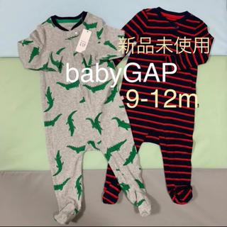 babyGAP - babyGAP♡足つきロンパース♡新品未使用