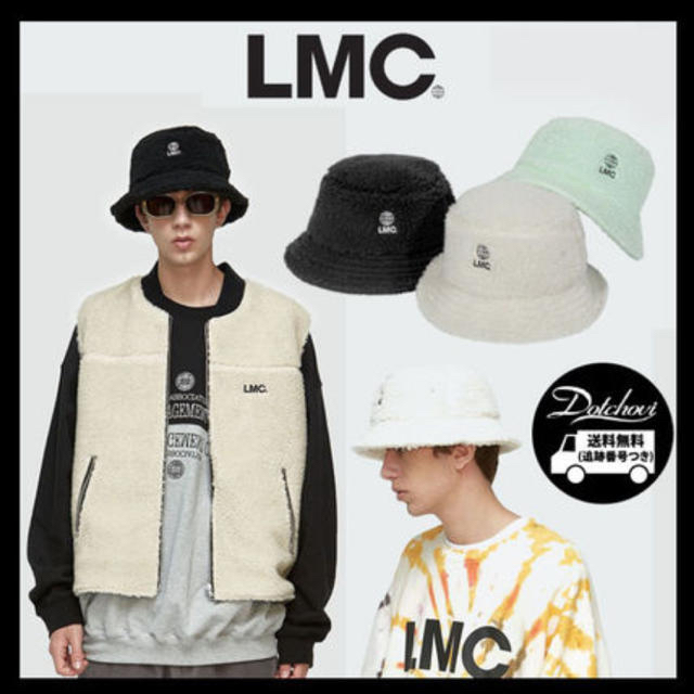 STUSSY(ステューシー)のLMC バケットハット ホワイト メンズの帽子(ハット)の商品写真