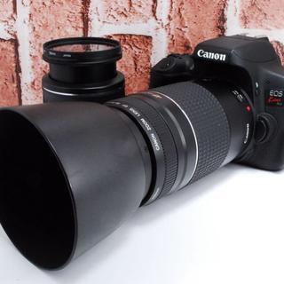 Canon - ❤️Wi-Fi機能搭載❤️Kiss X8i ダブルレンズセット
