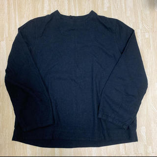 MUJI (無印良品) - 新品未使用★無印良品 新疆綿フランネルブラウス 婦人XL・ダークグレー