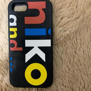 ニコアンド(niko and...)のニコアンド nikoand... スマホケース(iPhoneケース)