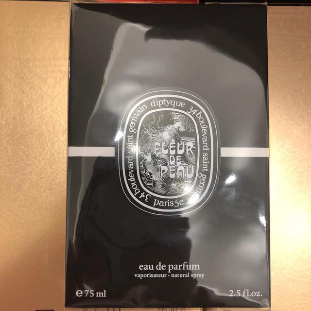 diptyque(ディプティック)の新品 未使用DIPTYQUE 75ml フルールドゥポー FLEURDEPEAU コスメ/美容の香水(ユニセックス)の商品写真