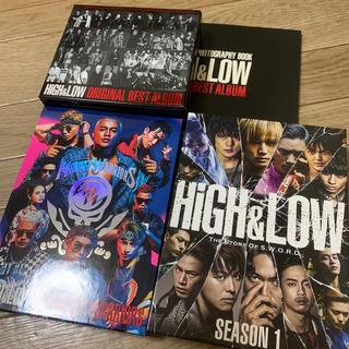 エグザイル トライブ(EXILE TRIBE)のHIGH&LOW DVD CD セット売り(TVドラマ)