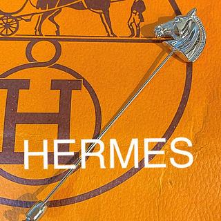 Hermes - 美品⭐️エルメス⭐️ピンブローチ 馬 ホース