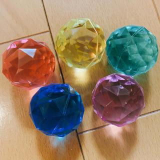 ♡スーパーボール  ダイアモンドカット.3.2mm♡10個セットマッサージボール