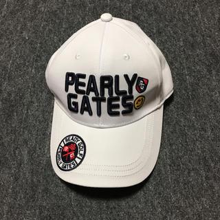 PEARLY GATES - パーリーゲイツ。キャップ。新品試着のみ。