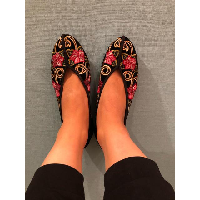 BEAUTY&YOUTH UNITED ARROWS(ビューティアンドユースユナイテッドアローズ)の台湾 チャイナシューズ❁︎ レディースの靴/シューズ(バレエシューズ)の商品写真
