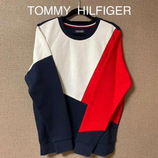 TOMMY HILFIGER - 【試着のみ】TOMMY  HILFIGER スウェット トルコロール