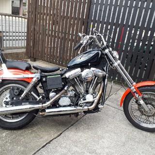 ハーレーダビッドソン(Harley Davidson)の値下 3拍子 ハーレーダビッドソン 1994年 FXDL ローライダー エボ(車体)