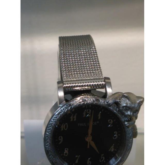 PAUL & JOE(ポールアンドジョー)のPaul&Joeポールジョー猫時計 レディースのファッション小物(腕時計)の商品写真