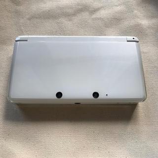 ニンテンドー3DS - ニンテンドー3DS ホワイト 充電器付き