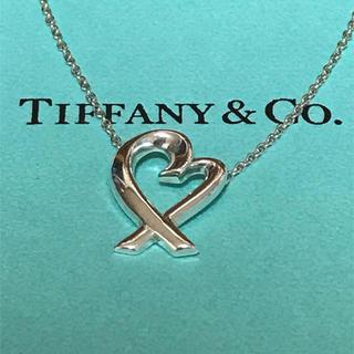 Tiffany & Co. - Tiffany(ティファニー) ラビングハート ネックレス SV925