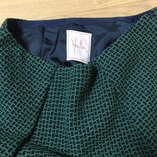 Sybilla - 美品  シビラ  スカート  刺繍糸織地