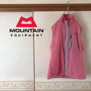 ザノースフェイス(THE NORTH FACE)の定価2.4万 mountain equipment ナイロンベスト レディース(ベスト/ジレ)