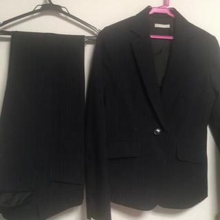ニッセン(ニッセン)の(はるか様専用)11号洗えるスーツ ネイビーストライプ ニッセン(スーツ)