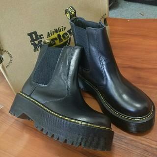 Dr.Martens - 正規品Dr.Martens 厚底ブーツ レディース ブラック 超美品 UK6.5