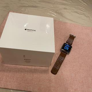 アップル(Apple)のApple Watch series3 セルラー 42m (腕時計(デジタル))