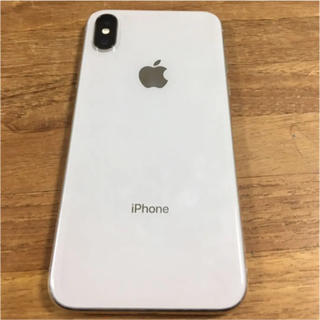 Apple - iPhone X Silver 256 GB SIMフリー <ジャンク>