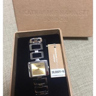 キャサリンハムネット(KATHARINE HAMNETT)のキャサリン ハムネット レディース時計 新品 未使用(腕時計)