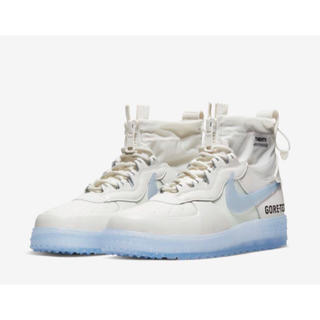 ナイキ(NIKE)のAIR FORCE 1 GORE-TEX WHITE 27.5cm(スニーカー)