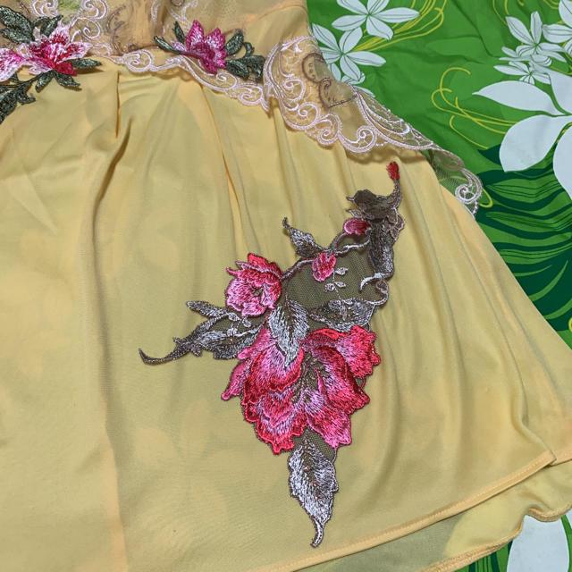 Wacoal(ワコール)のB79〜87サイズ・ワコール・Dublev'e・深みあるイエロー レディースのトップス(キャミソール)の商品写真
