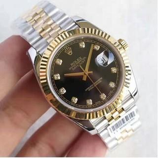 メンズ腕時計Rolex New 41ウォッチブラックプレート