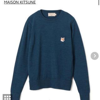 メゾンキツネ(MAISON KITSUNE')の値下【MAISON KITSUNE】プルオーバーニット【メゾンキツネ】(ニット/セーター)