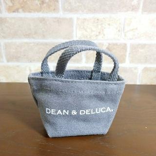 DEAN & DELUCA - 【美品】DEAN&DELUCA ミニトートバック グレー