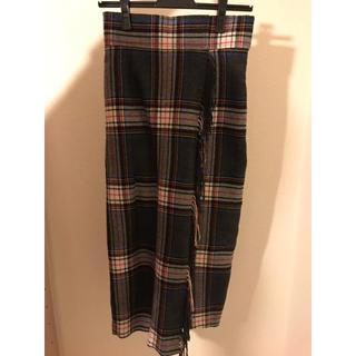 FRAY I.D - チェックタイトスカート